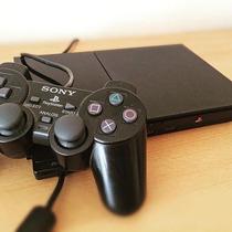Playstation 2 Black Scph-9001 Desbloqueado Sony 1 Controle