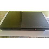Playstation 2 Frete Gratis 1 Controle 5 Jogos Cabos De Vídeo