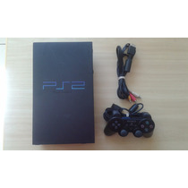 Playstation 2 Fat - 1 Controle - Hd 40 Gb - Network Adapter