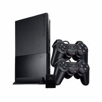 Playstation 2 Slim Desbloqueado Completo+2controles+ 2jogos