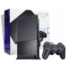 Playstation 2 Destravado 2 Controles 1 Memory * Frete Gratis