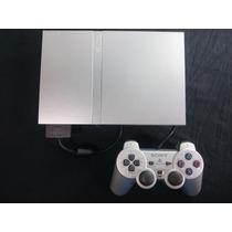 Video Game Playstation 2 Prata + Jogos Originais Veja!