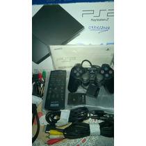Sony Playstation 2 Matrix Na Caixa + 2 Controles Memory Card
