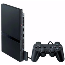 Playstation 2 Desbloqueado +2 Controles Paral Pronta Entrega