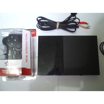 Playstation 2 Ps2 Desbloqueado+2controles+memoy+10 Jogos