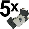 Kit 5 Leitor Óptico Pvr 802w Playstation2 Ps2 Slim Unidade