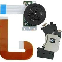 Kit Ps2 Leitor Óptico + Cabo Flat + Motor Ps2 Slim 9000x