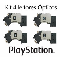Kit 4 Leitor Óptico Canhão Playstation 2 Todos Modelos Slim