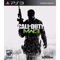 Call Of Duty Modern Warfare 3 - Cod Mw3 - Ps3 - Usado