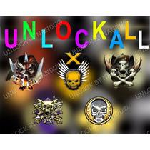 Desbloqueio Bo2, Bo1, Mw3, Ghosts, Mw2, Cod4 - Unlock All