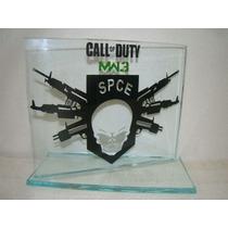 Call Of Duty Troféu Em Vidro