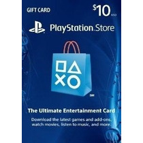 Cartão Psn $10 Usd - Playstation Network