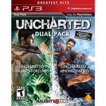 Uncharted Dual Pack (1&2) Greatest Hits - Ps3