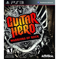 Guitar Hero 6 Warriors Of Rock Ps3 Semi Novo