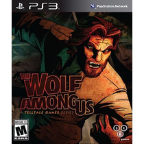 Jogo The Wolf Among Us Ps3 Midia Fisica Lacrado Nota F