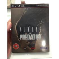 Alien Vs Predador Ps3 Edição Especial Na Lata