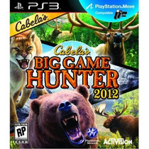 Cabela´s Big Game Hunter 2012 - Ps3 Lacrado Raro Frete 12,00