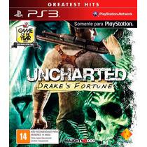 Uncharted Drakes Fortune 100% Português Mídia Física Ps3