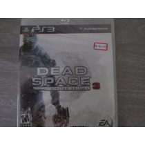 Dead Space 3 Limited Edition Para Sony Playstation 3 Ps3