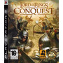 Ps3 - The Lord Of The Rings Conquest - Em Disco Original