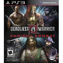 Deadliest Warrior: Ancient Combat Ps3 505 Games