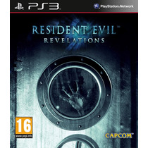 Jogo Resident Evil Revelations Ps3 Midia Fisica Lacrado Nota
