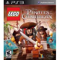 Jogo Lego Pirates Do Caribbean Para Ps3 /semi Novo/ Barato!!