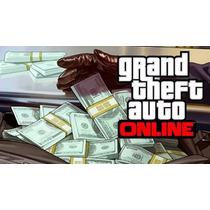 Conta Upada Gta V Dinheiro + Level Ps4, Ps3, Xbox One