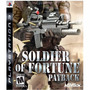 Jogo Ps3 Soldier Of Furtune