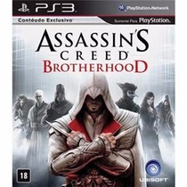 Jogo Assassins Creed Brotherhood Para Ps3/semi Novo/ Barato!