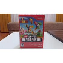 Nintendo Wii Jogo New Super Mario Bros Original Usado