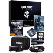 Call Of Duty Ghosts Prestige Edition Ps3 Lacrado