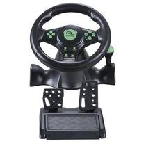 Volante 4 Em 1 Xbox360 /ps3/ps2/pc Com Marcha Acoplada Js075