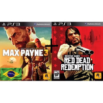Pacote Max Payne Complete Edition 3 & Red Dead Redemption