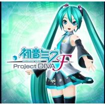Hatsune Miku/ Project Diva F Ps3 Jogos Midia Digital