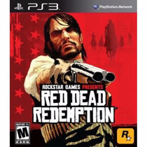 Jogo Ps3 Matal Red Dead Redempion