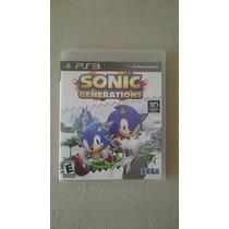 Ps3 - Sonic - Generations 3d