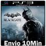 Batman Arkham Origins Blackgate - Psn Play3 Ps3 ** Envio Já