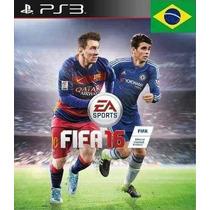 Fifa 16 Ps3 (código Psn) Português Envio Grátis E Imediato!!
