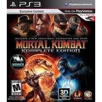 Mortal Kombat 9 - Komplete Edition - Ps3 - Codigo Psn!!