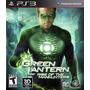 Green Lantern - Lanterna Verde: Rise Of The Manhunters Ps3
