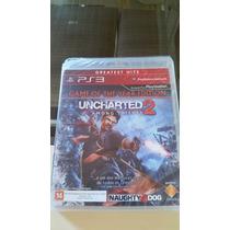 Uncharted 2 Among Thieves- Ps3 (mídia Física) Lacrado