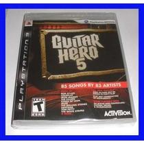 Jogo Ps3 Guitar Hero 5 Orig/usado Frete Gratis
