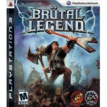 Brutal Legend Ps3 - Lacrado