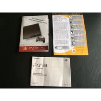 Panfletos Playstation 3 Antigo Primeiro Slim Poster Etc