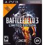 Ps3 - Battlefield 3 Limited Edition - Psfmonteiro - Original