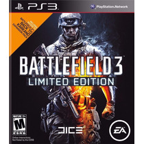 Ps3 - Battlefield 3 Limited Edition - Psfmonteiro - Original