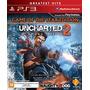 Uncharted 2 Among Thieves - Ps3 Novo, Lacrado, Blu-ray