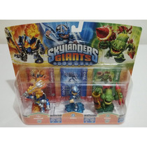 Skylanders Giants Spyros Ignitor S2 Chill Zook S2 Ps3 Xbox