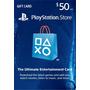 Cartão Psn $50 Usd - Playstation Network